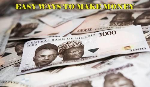 Simple ways to make money fast