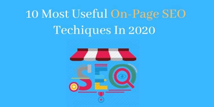 On-Page SEO Techniques
