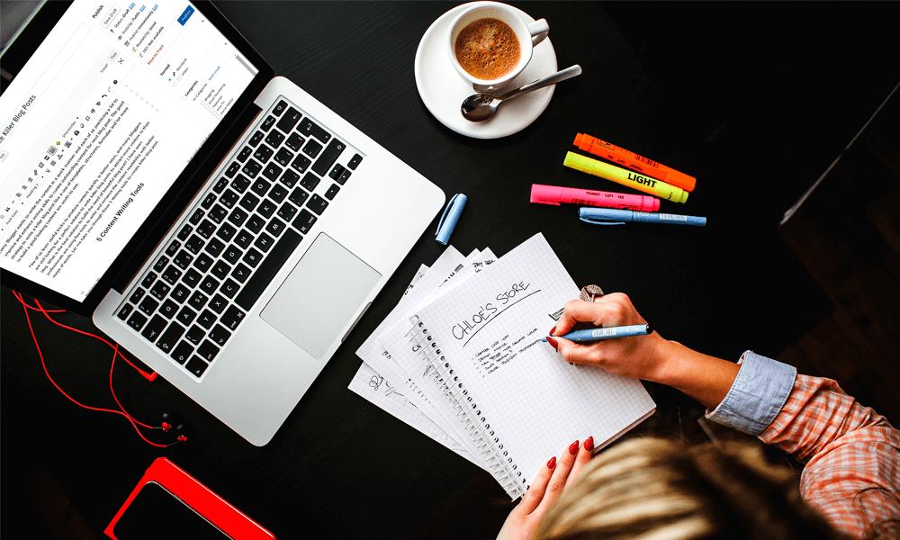 Writing blog posts worth reading