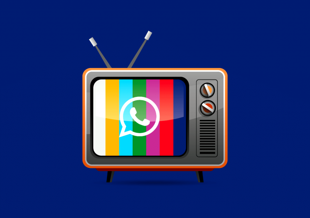 How to open a whatsapp Tv
