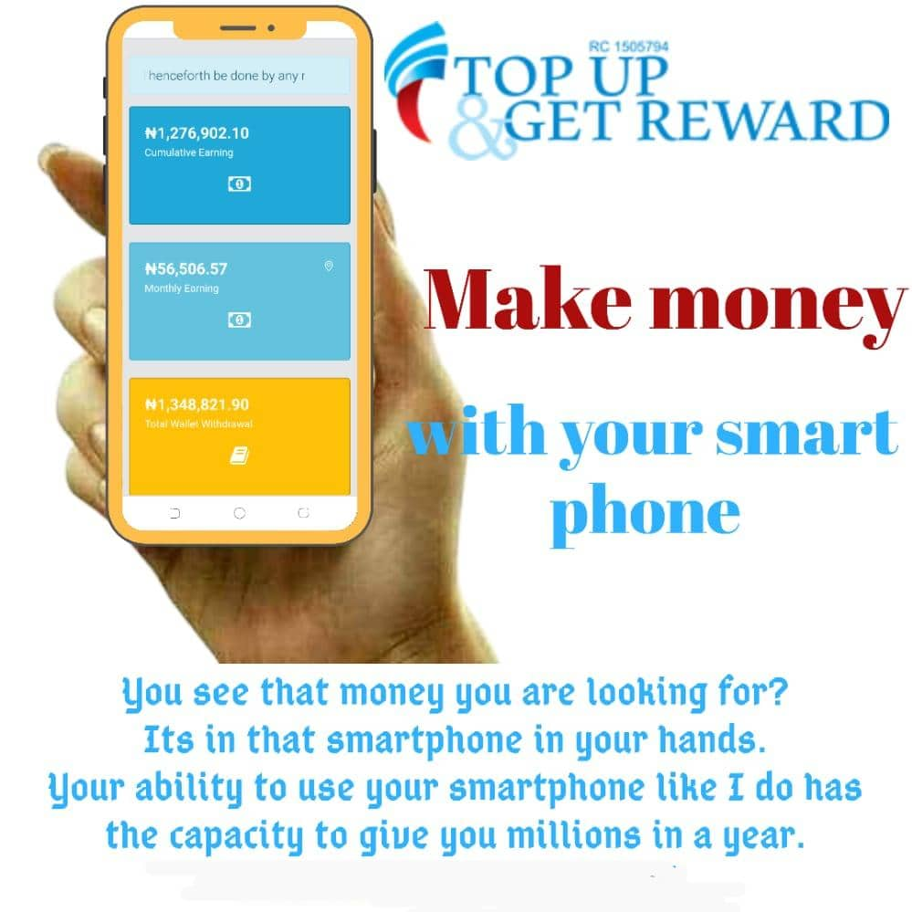 Top Up And Get Reward Review
