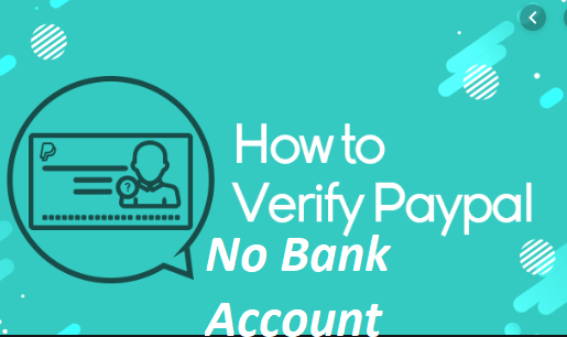 How to verify PayPal without a bank account